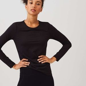 NWT Lou & Grey FORM Runtime Top - High Impact
